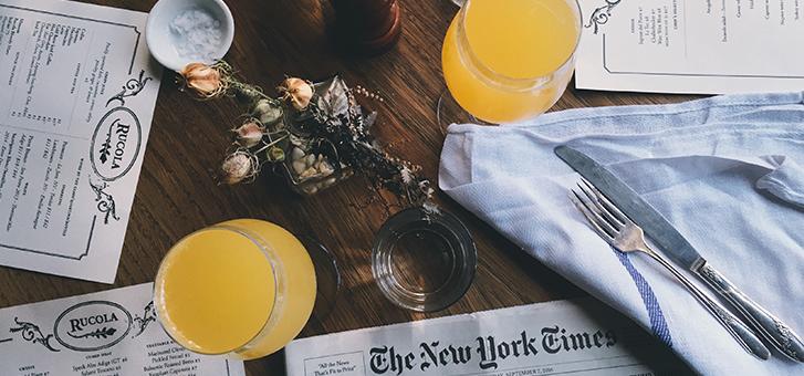 scrivere il menù di un ristorante