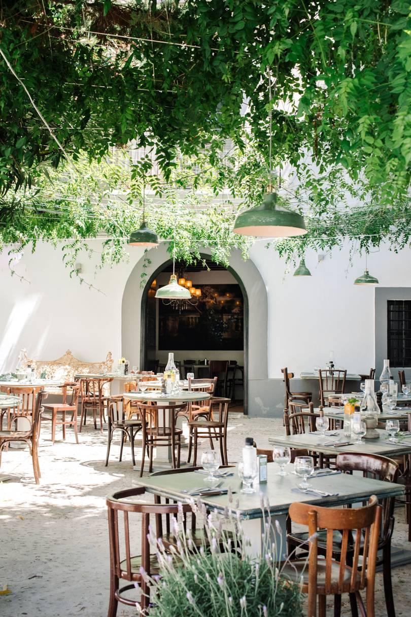 arredare spazio esterno ristorante